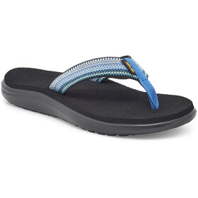 Teva Voya Flips Women, antiguous blue multi